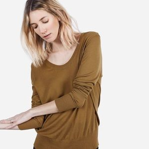 Everlane The Luxe Sweater U-Neck